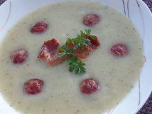 Zupa krem ziemniaczany z majerankiem i tymiankiem