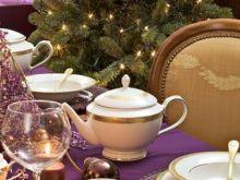 Kremowa porcelana na Święta