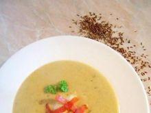 Kremowa zupa kminkowa