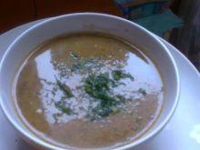 Kremowa zupa kurkowa z koperkiem