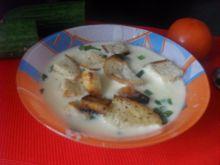 Kremowa zupa serowa