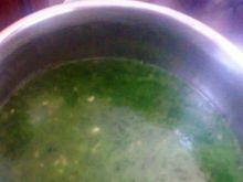 Kremowa zupa szpinakowa
