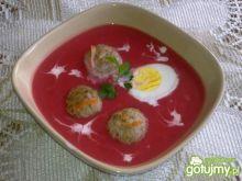 Kremowa Zupa Warzywna z Pulpetami
