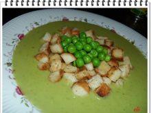 Kremowa zupa z groszku Eli