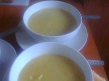 Kremowa zupa z kury