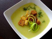 Kremowa zupa z selera i pora