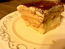 Kremowe ciasto toffi