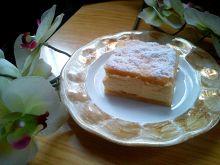 Kremówka z domowym ciastem francuskim