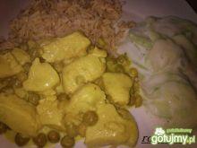 Kremowy kurczak curry