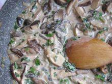 Kremowy sos grzybowy