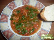 krewetki smażone z pomidorami