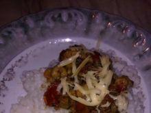 Krewetki z ryżem na obiad