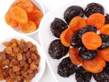 Krojenie suszonych owoców