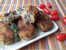 Krokiety grzybowo - ziemniaczane