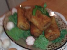Krokiety mięsne z grzybkami