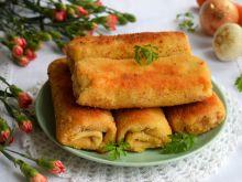 Krokiety z gotowanym mięsem, warzywami i kapustą