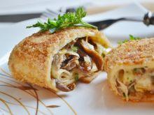 Krokiety z grzybami i serem