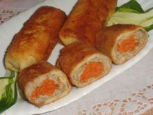 Krokiety z mięsem i marchewką