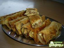 Krokiety z mięsem i serem żółtym