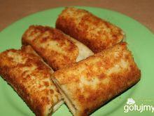 Krokiety z mięsem i żółtym serem