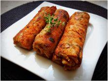Krokiety z mięsem, kapustą i grzybami