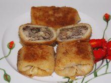 Krokiety z mięsem, kapustą i pieczarkami