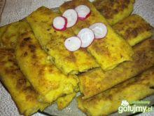 Krokiety z pieczarkami i jajkiem