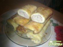 Krokiety z serem i pieczarkami