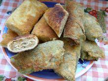 Krokiety z tortilli z kaszą bulgur