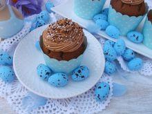 Krówkowe muffinki z kremem