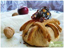Krucha sakiewka orzechowo - jabłkowa