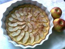 Krucha tarta jabłkowa z cynamonem