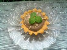 Kruche babeczki z kremem kakaowym