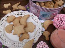 Kruche ciasteczka cynamonowo- imbirowe