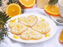 Kruche ciasteczka cytrusowe z lukrem
