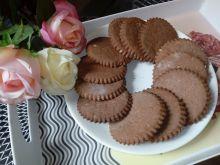 Kruche ciasteczka czekoladowo-piernikowe