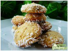 Kruche ciasteczka daktylowo - kokosowe