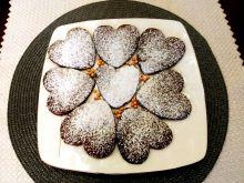 Kruche ciasteczka kakaowo - piernikowe