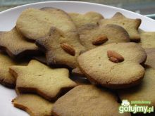 Kruche ciasteczka na mące z ciecierzycy
