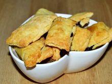 Kruche ciasteczka nadziane śliwkową nutellą