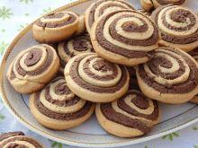 Kruche ciasteczka ślimaczki