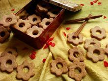Kruche ciasteczka z aromatycznym dodatkiem