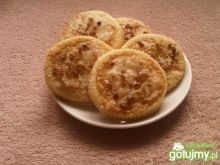 Kruche ciasteczka z cukrem kandyzowanym