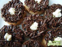 Kruche ciasteczka z czekoladową posypką