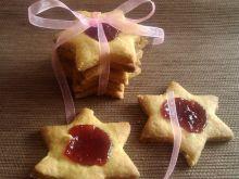 Kruche ciasteczka z marmoladą wg Konczi