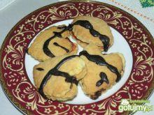 Kruche ciasteczka z nutellą
