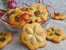Kruche ciasteczka z orzechami i migdałami