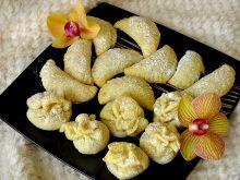 Kruche ciasteczka z powidłami