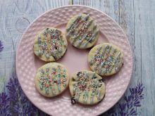 Kruche ciasteczka z żurawiną