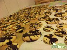 Kruche ciastka z czekoladą